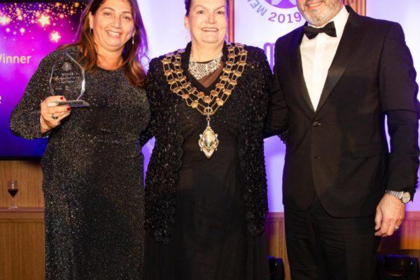 Mayor of Merton with Aya Cuisine - Copy