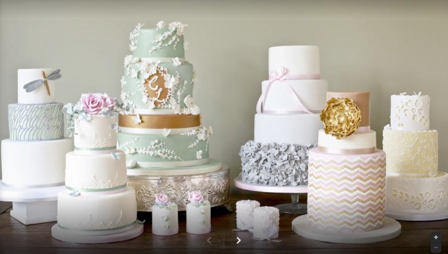 WEDDING CAKES with award winning ROBIN GREEN