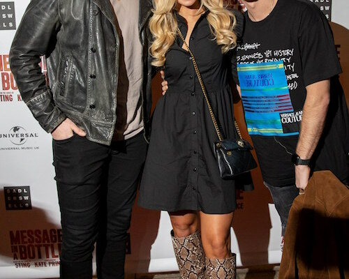 Message In A Bottle Press Night Red Carpet - Curtis Pritchard, Abbie Quinnen and AJ Pritchard @pasco.photography