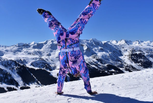 sustainable ski wear