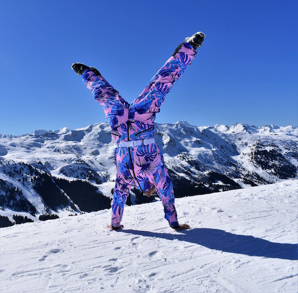 Fashionable yet sustainable ski wear