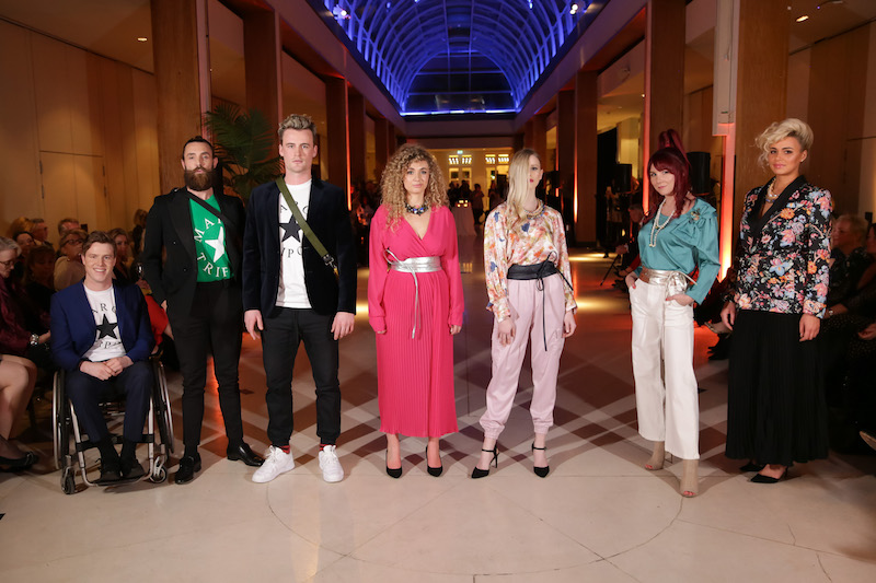 Glitz and Glamour – Back Up Charity was Front Row in fashion at The Hurlingham Club