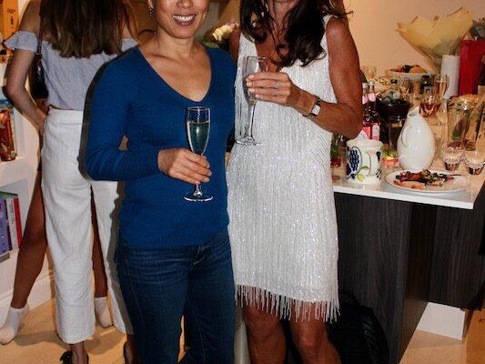 Miae Kim and Sarah Castledine