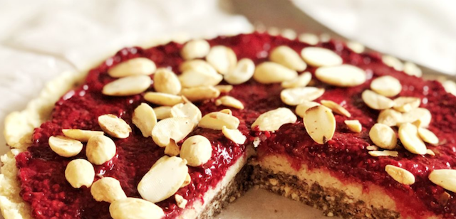 What a Treat – Raw Nutritious Vegan Bakewell Tart