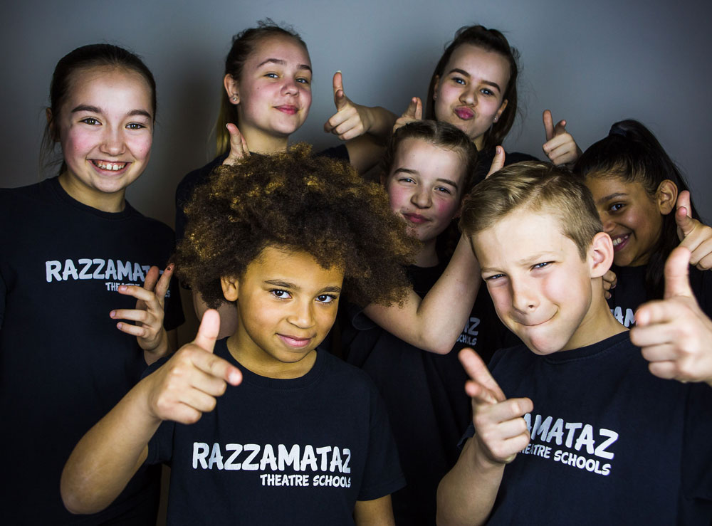 stage school kids