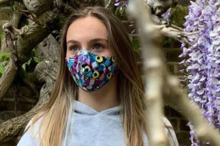fabric full face mask