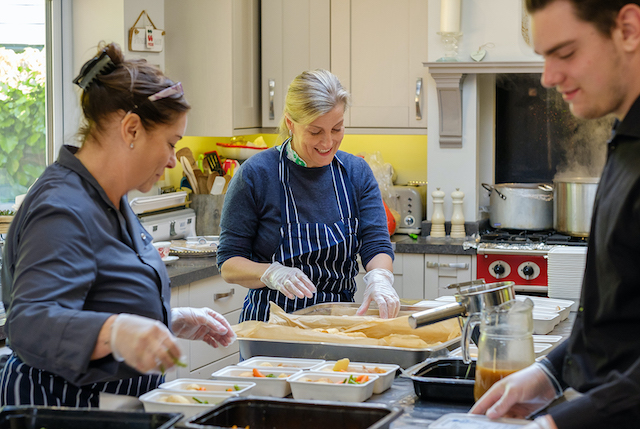Lavender Catering welcomed a Royal visitor, Countess of Wessex to their kitchen