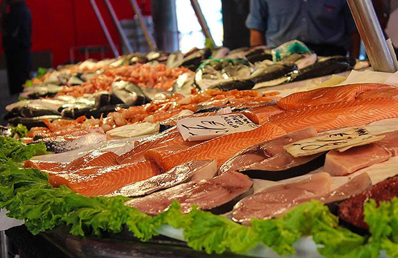 Fresh Fish at Farmers Market