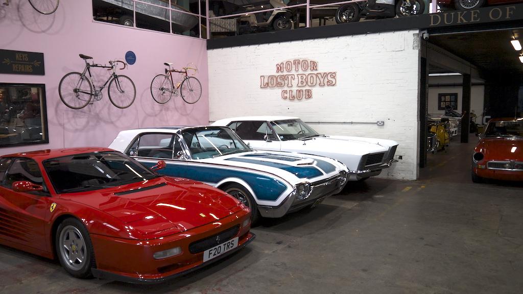 Duke of London – an amazing classic & super car hub