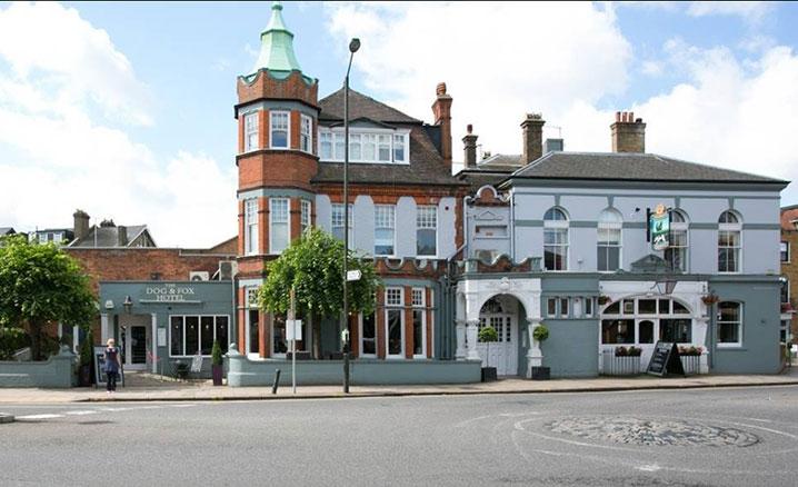 dog & fox pub wimbledon