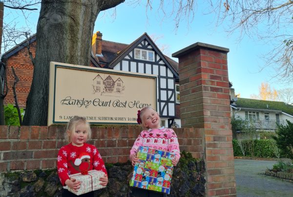 Care Home Christmas appeal
