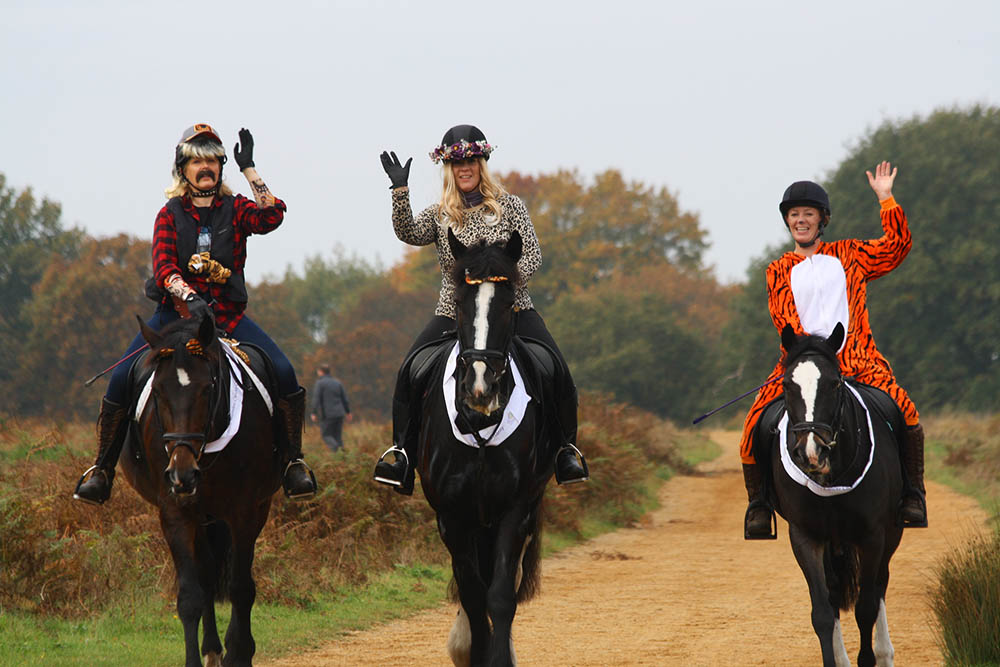 Sponsored rides raise thousands for Royal Marsden and Wimbledon and Putney Commons
