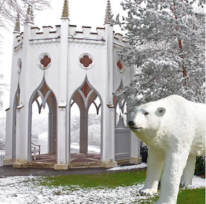 Snowfari in Painshill Park