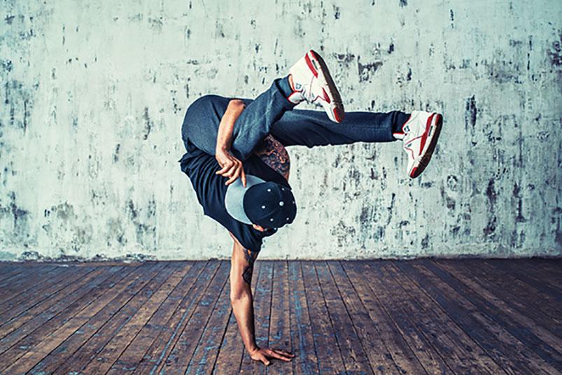 Breakdancing at the Olympics! Says London's JV Mattei fitness guru