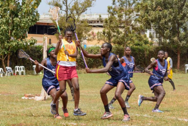 Lacrosse team Kenya world champs