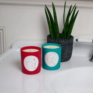 Luxury aromatheraphy candles