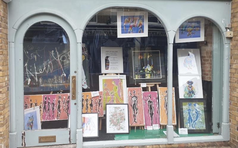 Art pop ups are a saviour for artists