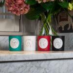 Luxury aromatheraphy candles