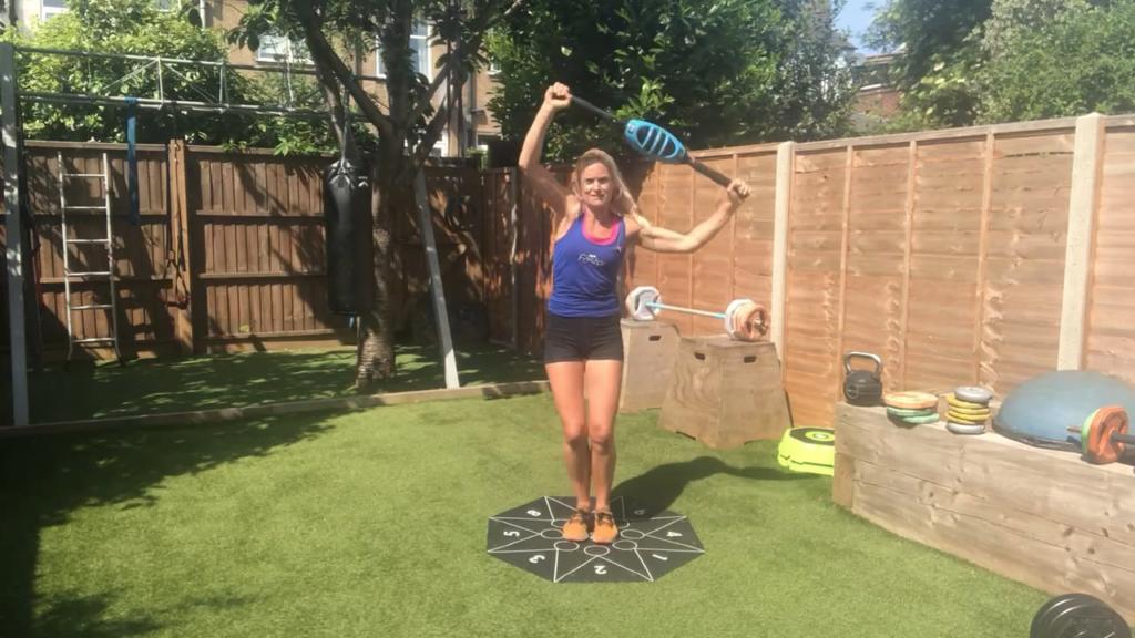 Joanne Groves fitness tips