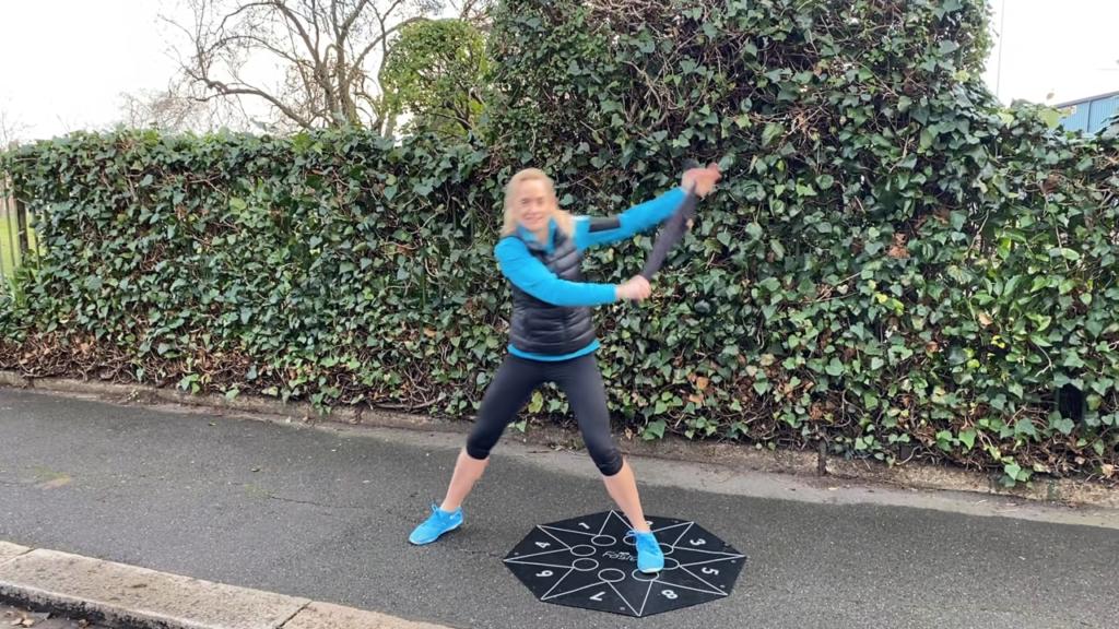 Joanne Goaves fitness tips