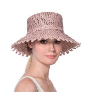 Erik-Javits-Ibiza-summer-hat-blush