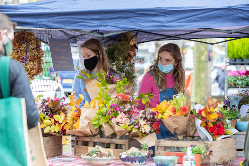 Chiswick Flower Market reopens