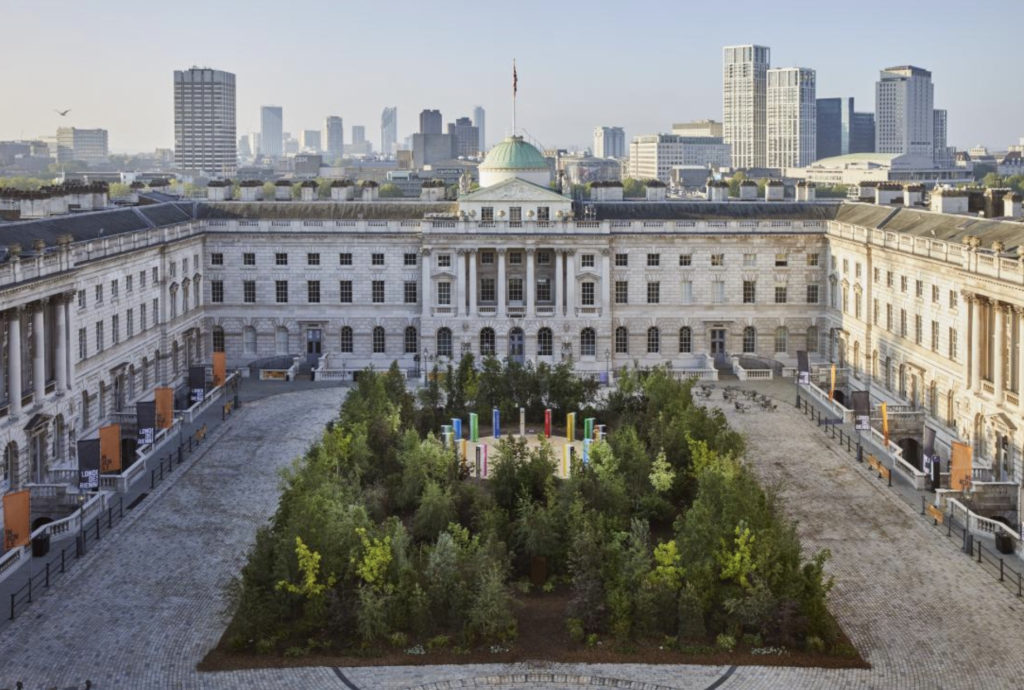 Must-see-art-exhibition-in-London-Forest-of-Change-Summerset-House
