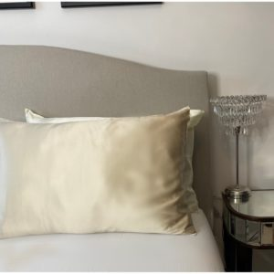 Mulberry silk pillow case champagne