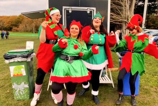 Christmas 2020 Darling Supports Wimbledon Elf Initiative