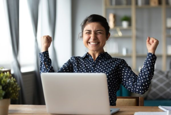 How-to-get-that-job-book-woman-excited